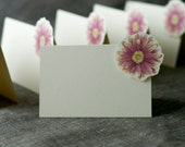Purple Daisy - Place Card - Escort Card - Gift Card  - Menu card weddings events