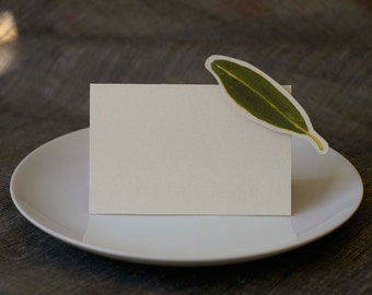 Olive Leaf - Wedding Place Card - Gift Card - Table Number Card - Menu Card -weddings events