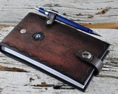 Leather Notepad Traveller Journal