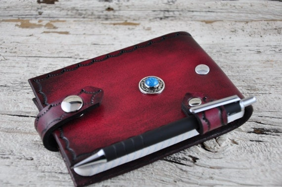 Leather Notepad Journal SALE