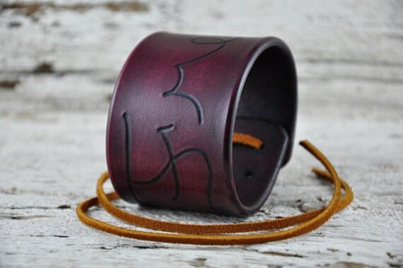 Free Spirit Leather Cuff