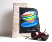 Cafe Au Lait Reusable Sandwich Bag - Coffee Lovers Series