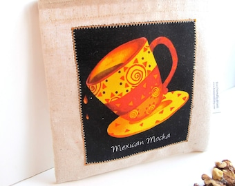 Mexican Mocha Reusable Sandwich Bag - Coffee Lovers Series