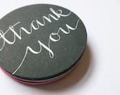 Thank You Calligraphy Envelope Seals, 12