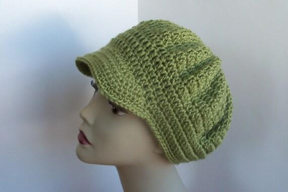 Slouchy Newsboy Cap - Crochet -  Not your Colour send me a message.