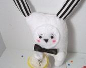 RESERVED White Rabbit plushie