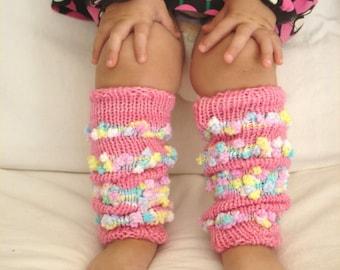 Knitting PATTERN- Children's Legwarmers pdf file