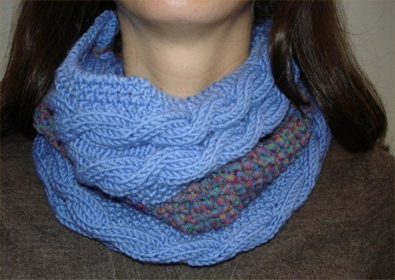 KNITTING PATTERN Infinity Scarf PDF by theknittingniche on ...