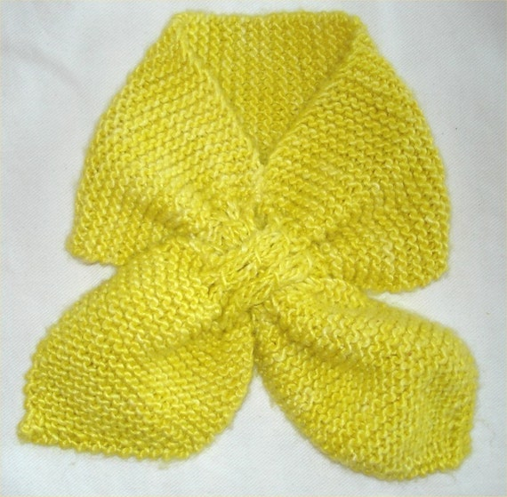 Ascot Scarf Knitting Pattern : KNITTING PATTERN- Toddler Ascot. Scarf knitting pattern. PDF from theknitting...