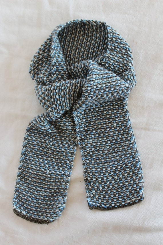 Items similar to Easy Knitting PATTERN- Childs Tweed Scarf - Beginner Kn...