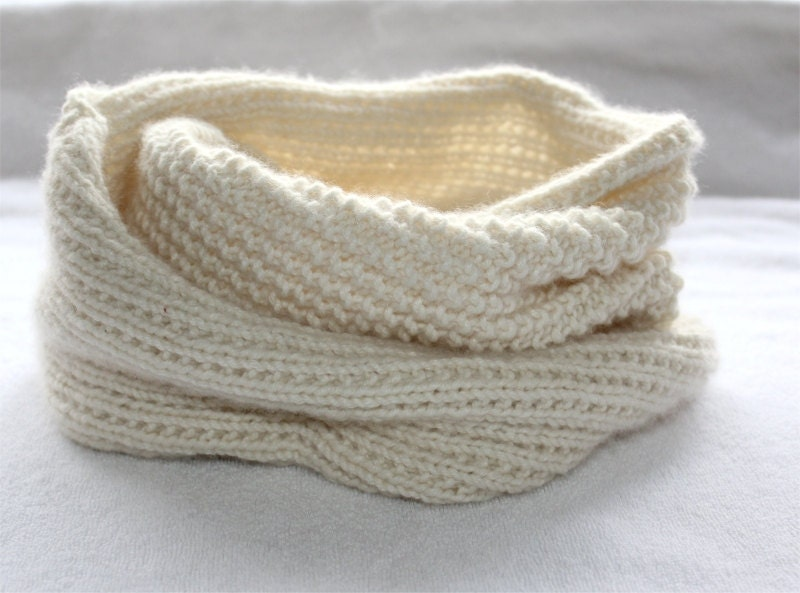 Knitting PATTERN Snood Knitting Pattern PDF