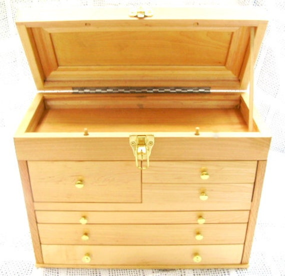 Hobby Chest with 6 Drawers