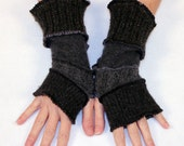 Arm Warmers -- One Size Fits Most - Made from Recycled Sweaters -- Ready to Ship