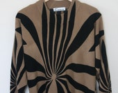 Vintage Lobby Oversized Carmel Sweater
