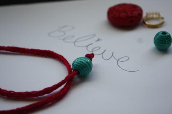 The Belief Bracelet