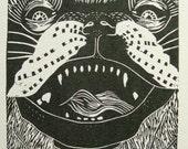 Psychedelic Pug - Original Print