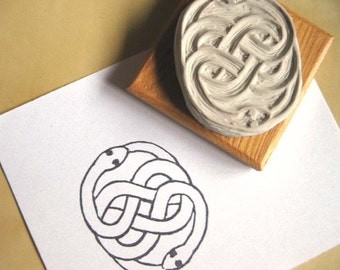 AURYN Talisman / Infinity Knot / Neverending Story Stamp