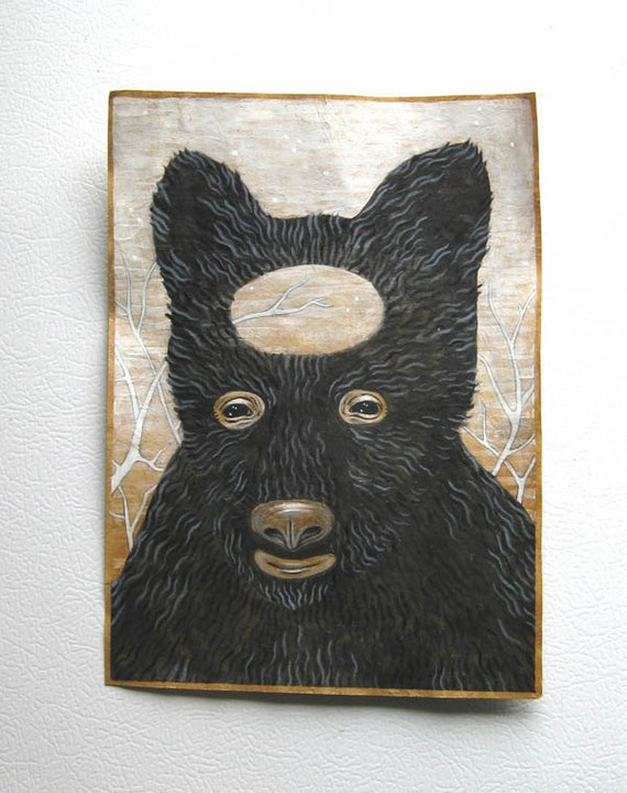 Black Bear Dream - Original Painting on Paper