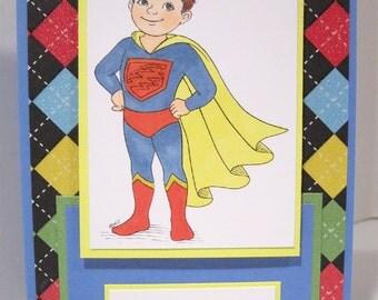 Super hero birthday