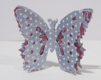 Gorgeous BUTTERFLY embellishments - set of 20