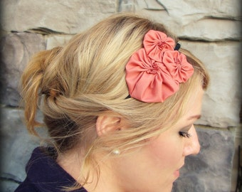 Melon Flower Cluster Headband for Adult and Girl