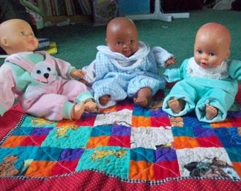 Doll security quilt for Quilts For Kids