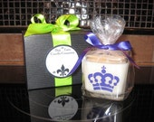 Mardi Gras 12 oz Soy Cube.  You choose the scent.