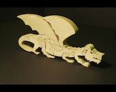 Stalking Dragon Wooden 3D Puzzle