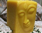 Beeswax Buddha Candle Square