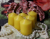 Beeswax Votive Candles Set of 6