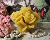 Beeswax Rose Bouquet Flower Candle