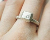 Diamond Cube Ring