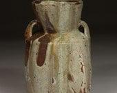 short lobed vase