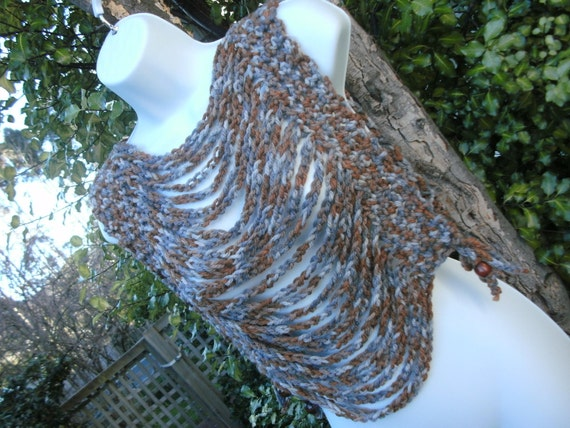 Chunky Rusty Chain Vesty Thing