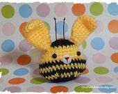 Honey the bumble bee Onigiri Bunny