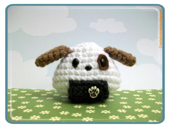 Fido Dog Onigiri Amigurumi One of Zodiac signs
