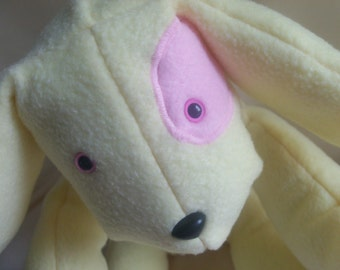 Tulip the Springtime Stuffed Dog