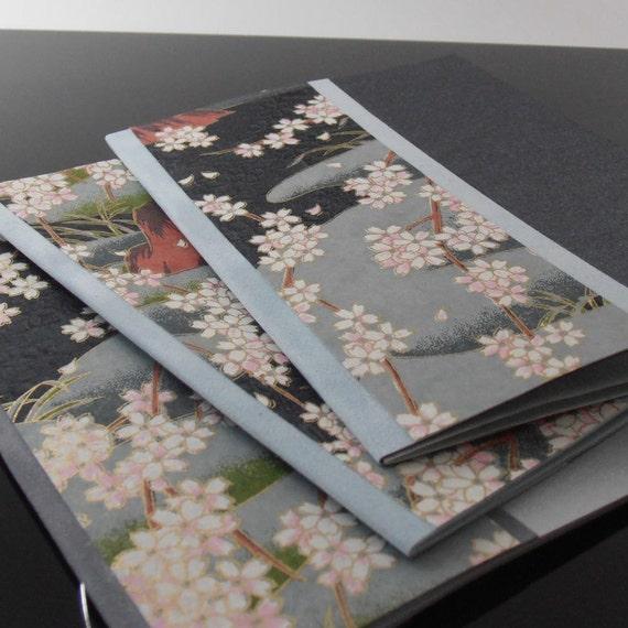 Cherry Blossom Cards, Set of 3