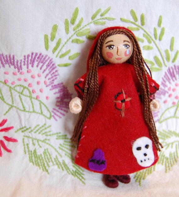Saint Mary Magdalene Doll - Made to order