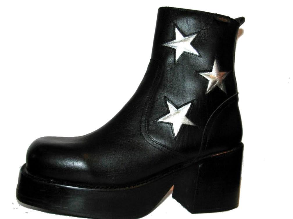 Mens Vintage S Platform Shoes