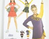 Girls Costume Pattern Simplicity 3689 - Girls Cheerleader Costumes  Sz 4/6/8/10