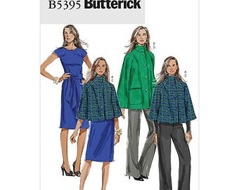Butterick Wardrobe Pattern B5395 - Misses' Jacket, Dress, Belt & Pants -  SZ 16/18/20/22