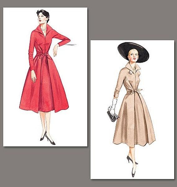 Vogue Dress Pattern 2401 - Vogue Vintage Model 1952 Dresses - Sz 12/14/16