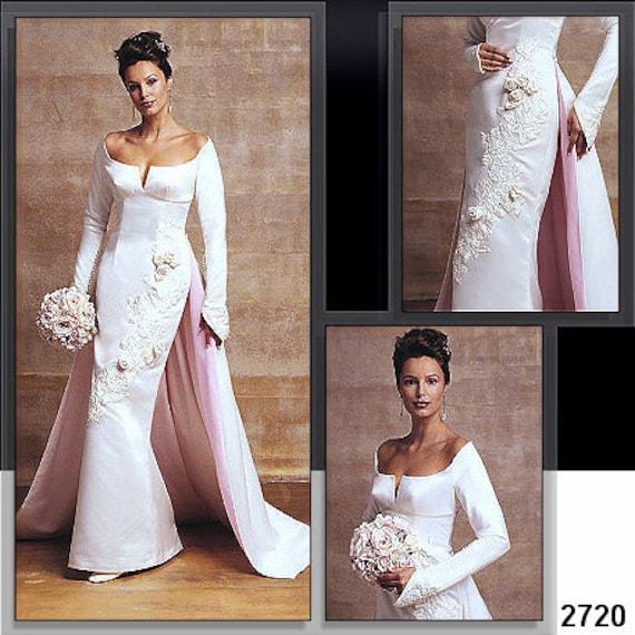 Vogue Wedding Dress Pattern 2720 Misses' Wedding Dress
