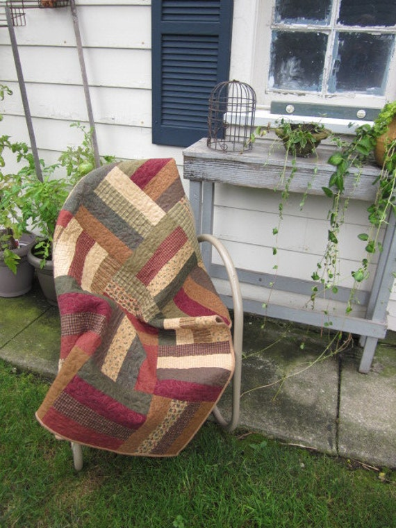 Fall Rail Fence Quilt