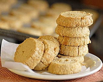 Whole Wheat Coconut Shortbread