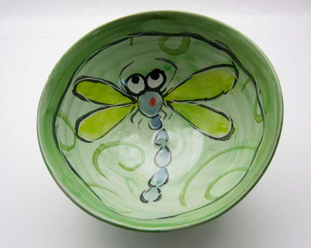Handmade Ceramic Majolica Pottery Clay Small Serving Bowl