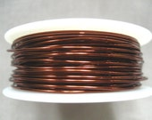 10 ft -- 24 gauge NonTarnish Brown Viking Knit Crochet Wire