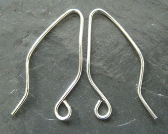 Elf Ear Shaped EarWires (Your Choice of Color) 4 PAIRS