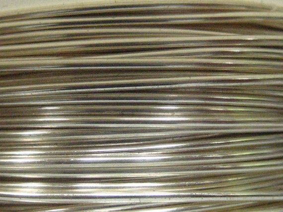 18ft -- 22 ga Non Tarnish Silver Wire